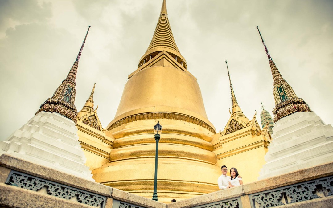 Photo of the Day | The Grand Palace Bangkok Thailand Engagement Session