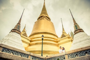 The Grand Palace Bangkok Thailand Wedding Photography