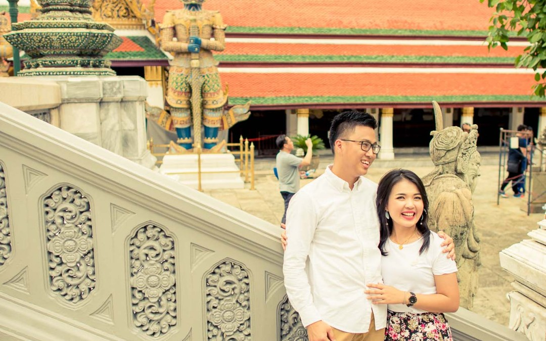 Photo of the Day | The Grand Palace Bangkok Thailand Pre-Wedding