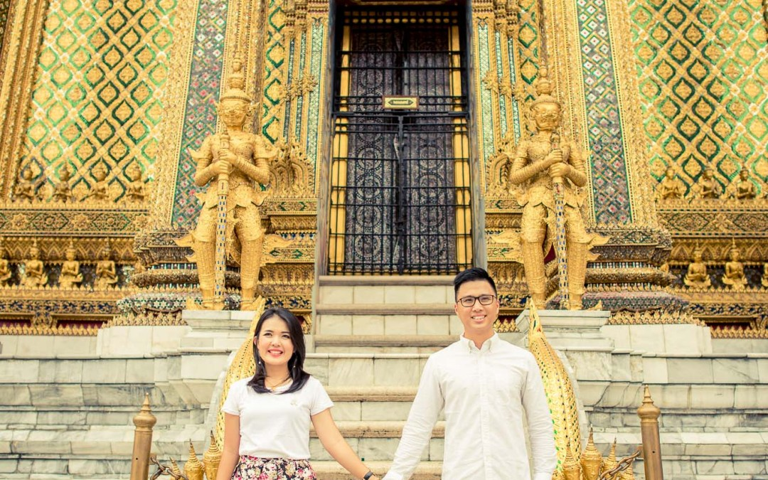 Photo of the Day | The Grand Palace Bangkok Thailand Engagement Photography