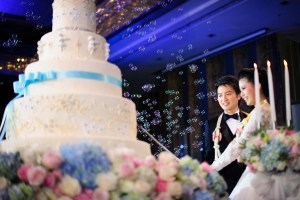 Renaissance Bangkok Ratchaprasong Hotel Wedding Reception | Bangkok Wedding Photography