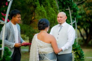 Destination wedding at Baanlychee, Kantary Hills, Chiang Mai in Thailand.