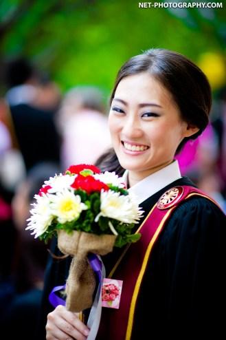 Cat's Commencement Day at Thammasat University in Bangkok, Thailand.