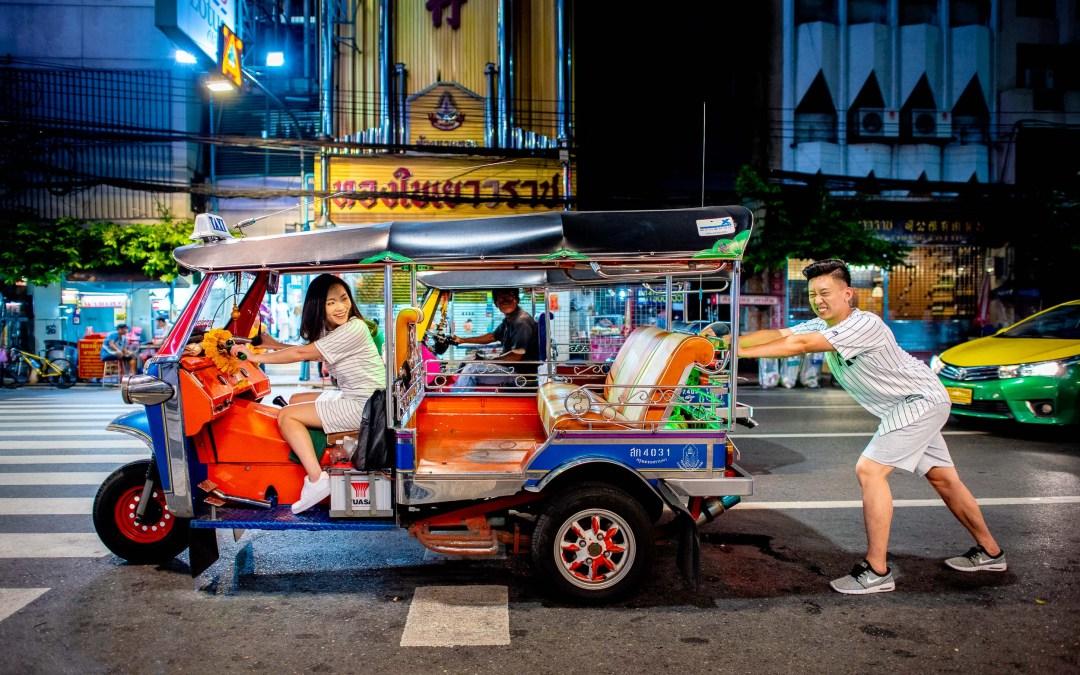 Bangkok Thailand Prenuptial Photography