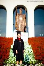Graduation photo taken at Assumption University in Thailand. ถ่ายภาพรับปริญญามหาวิทยาอัสสัมชัญ