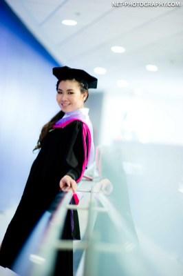 Graduation photo taken at Rangsit University in Thailand. ถ่ายภาพรับปริญญามหาวิทยาลัยรังสิต