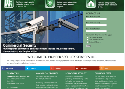 Pioneer Security Services, Inc.