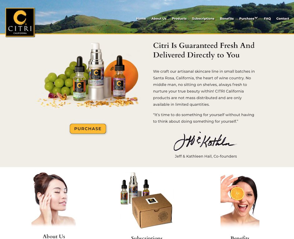 CITRI California Website
