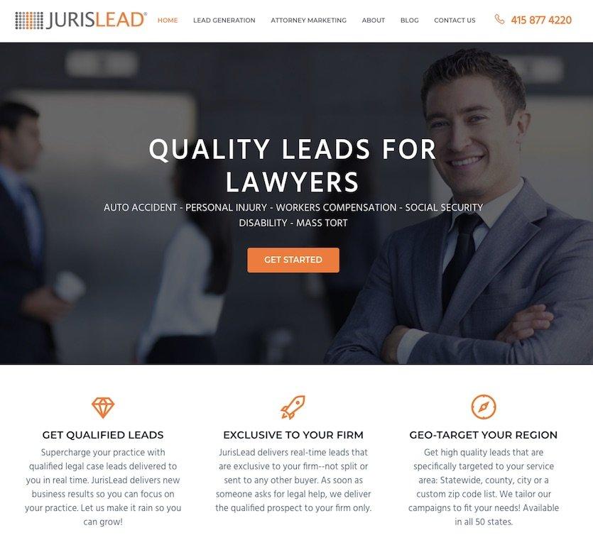 JurisLead Home Page
