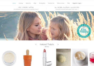 Kiss Freely, Allergen & Gluten Free Cosmetics