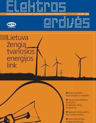 Žurnalas Elektros Erdvės Nr. 26 2011