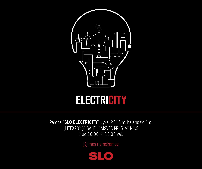 Paroda SLO ELECTRICITY 2016 Vilnius