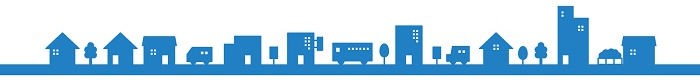 街並み(青)