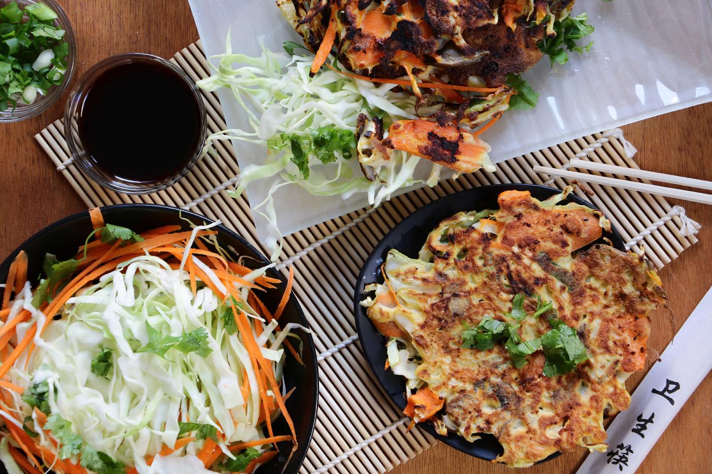 Okonomiyaki Japanese Pancake