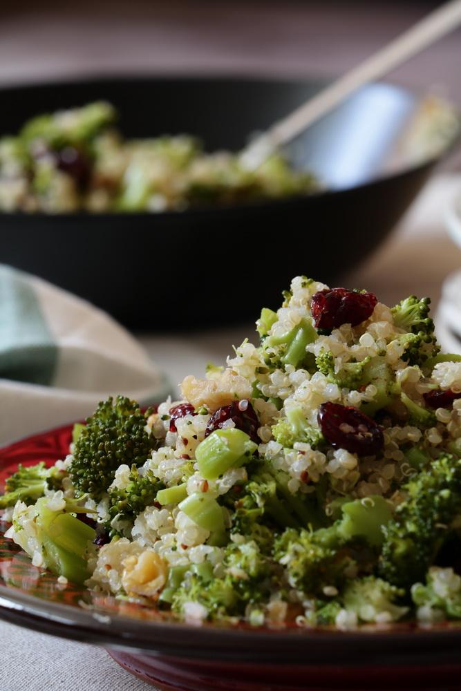 Quinoa & Broccoli Salad