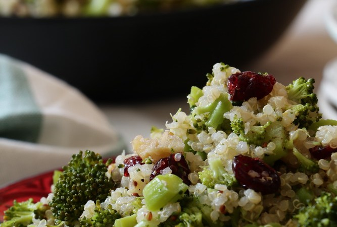 Quinoa  & Broccoli Salad