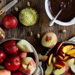 Chocolate Covered Peaches and Nectarine