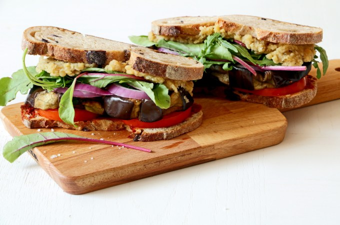 The perfect vegan sandwich
