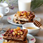 Easy Apple Waffles