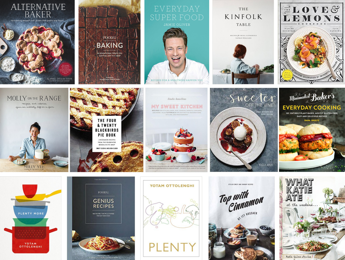 2016 Cookbook wish list