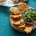 Indian Style Red lentil fritters