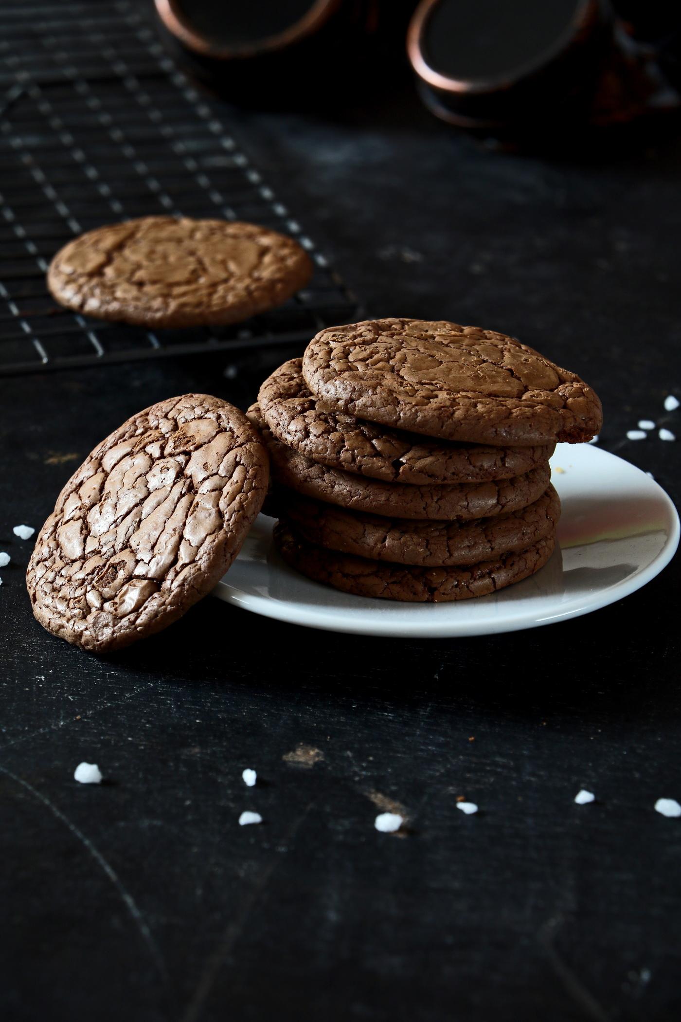 Soft Brownie Chocolate Cookies