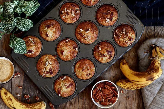 Banana Pecan Muffin Recipe