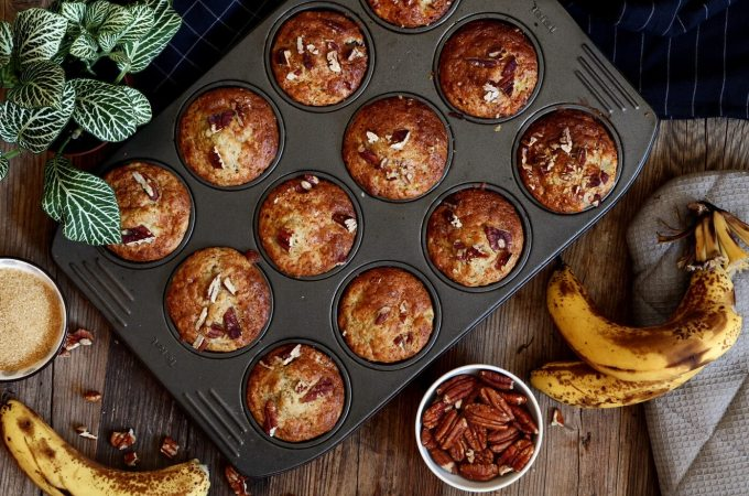 Banana Pecan Muffin Recipe