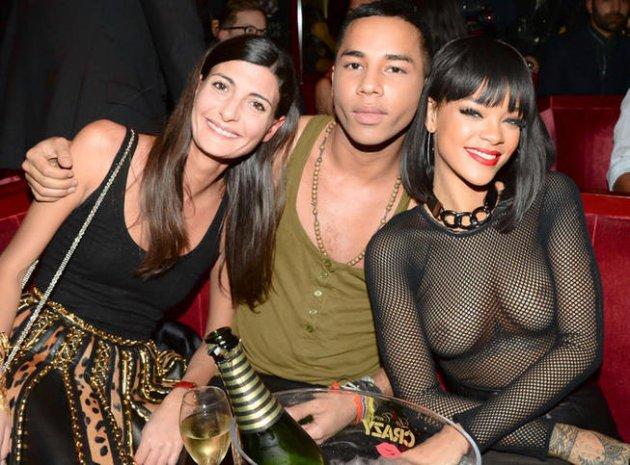 Rihanna : Topless ou presque