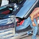 El Hadj Diouf est le deuxième footeux qui conduit la voiture la plus chère