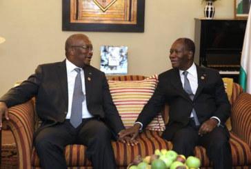 Roch Marc Christian KABORE à propos des relations entre le Burkina et la Côte d'Ivoire: Le passé doit être considéré comme passé(…) il faut consolider les relations entre les deux pays