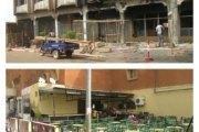 ATTENTATS TERRORISTES DE OUAGADOUGOU Splendid hôtel et Taxi Brousse en réfection