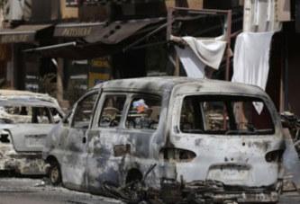 ATTAQUE TERRORISTE DE OUAGADOUGOU, UN GENDARME AMPUTE AU PIED!