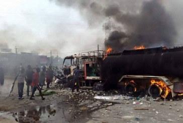 5 citernes et 1 voiture en fumée à Cissin – Ouagadougou