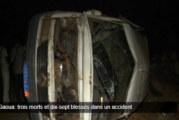 Gaoua: trois morts et dix-sept blessés dans un accident