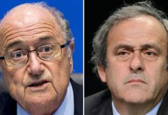 Fifa: Blatter et Platini gagnent deux ans en appel