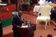 Déclaration de politique générale de son excellence monsieur Paul kaba Thieba, Premier ministre, chef du gouvernement