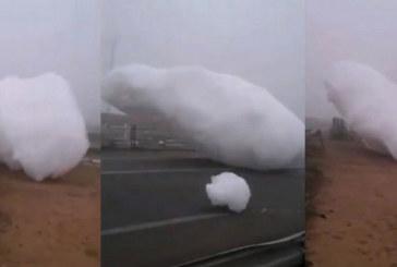 """Des """"nuages mystérieux"""" tombent du ciel au Maroc (Vidéos)"""