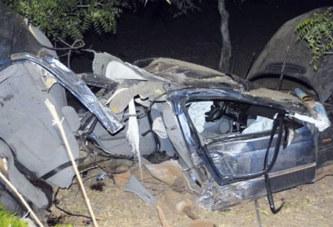 Drame : décès brutal de trois personnes sur l'axe Kaya-Dori