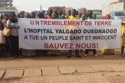 Décès de Pamtaba Zourata à l'hopital Yalgado Ouédraogo:  Les femmes des corps habillés marchent pour que plus rien ne soit comme avant