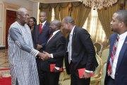 Le Groupe bancaire UBA rassure le Président du Faso de son soutien