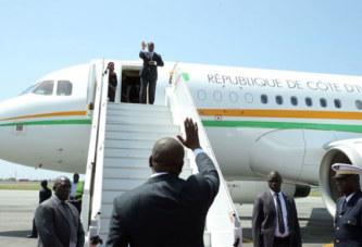 Alassane Ouattara a quitté Abidjan pour Paris et Istanbul
