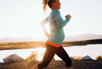 Courir enceinte transmettrait le goût du sport à l'enfant