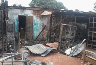 Bobo : 5 boutiques parties en flammes au marché de Lafiabougou