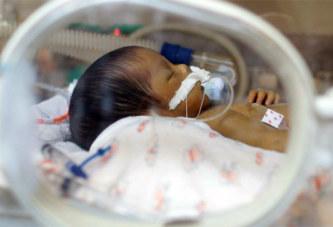 Une femme, morte depuis 55 jours, accouche d'un bébé prématuré
