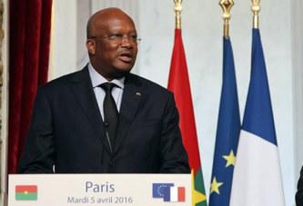 Roch Marc Christian Kaboré: « Si on n'aide pas le Burkina Faso, ce sera la chronique d'un échec annoncé »