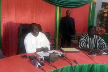 Rencontre CENI/Partis politiques : « J'en appelle à votre patriotisme, afin de sauvegarder la jeune démocratie du Burkina Faso », Me Barthélémy Kéré
