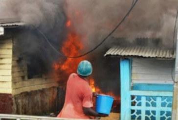 Guinée-Equatoriale: 8 enfants d'une même famille périssent dans un spectaculaire incendie qui laisse près de 200 sans abris