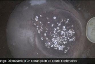 Garango: Découverte d'un canari plein de cauris centenaires