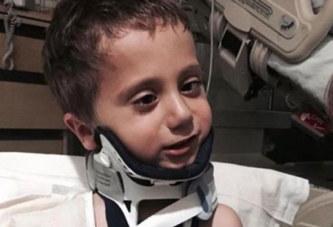 Un enfant de 4 ans survit à une décapitation interne